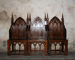 Unusual Holiday, Hunedoara, Romania, Hunyad Castle interior furniture