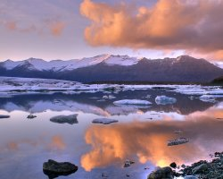 Iceland, Europe, Jokulsarlon Lake