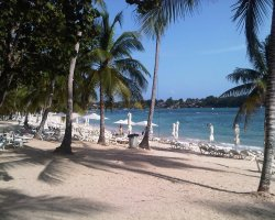 Impressive Beaches, Dominican Republic, Central America, Las Minitas Beach leisures view