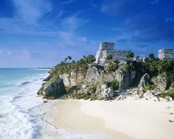 Impressive Beaches, Mexico, America, Tulum Beach view