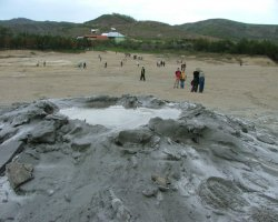 Impressive Holiday, Mud Volcanoes, Buzau, Romania, Overview