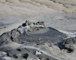 Impressive Holiday, Mud Volcanoes, Buzau, Romania, View