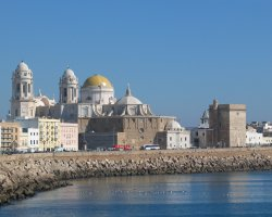 Cadiz, Andalusia, Spain, Cathedral view