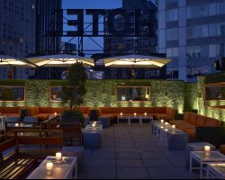 Interesting Hotel Holiday, New York, USA, The Empire Hotel rooftop east terrace