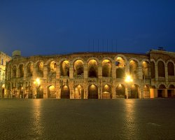 Italy Holiday, Verona, Italy, Arena di Verona outside view