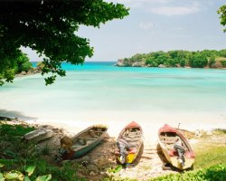 Jamaica Holiday, Jamaica, Remote beach and boats