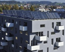 January Destinations, Salzburg, Austria, Roof thermal solar collector