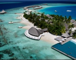 January Destinations, Maldives, Asia, Luxury resort aerial view