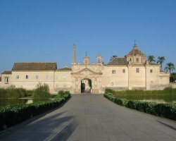 January Holiday, Sevilla, Spain, Monasterio de la Cartuja