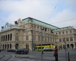 January Holiday, Vienna, Austria, State Opera House