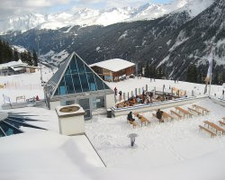 Kappl, Austria, Europe, Sunny Mountains Restaurant
