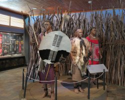 Kingdom of Swaziland Holiday, National Museum, Swaziland, Africa, Natives exhibit