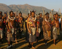 Kingdom of Swaziland Holiday, Swaziland, Africa, Locals outfit