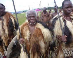 Kingdom of Swaziland Holiday, Swaziland, Africa, Elders warriors