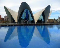 Largest Aquarium, Valencia, Spain, LOceanographic panorama