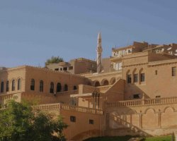 Lesser Known Turkey, Mardin, Local house with tower