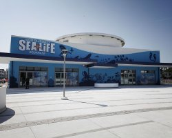 Lido di Jesolo, Italy, Sea Life Aquarium entrance