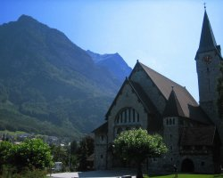 Liechtenstein, Europe, Church