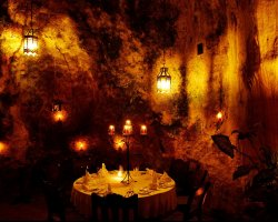 Lifetime Holiday, Ali Barbour Cave Restaurant, Kenya, Africa, Romantic Evening