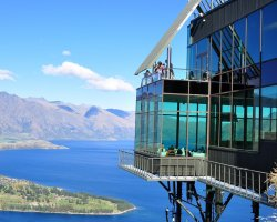 Lifetime Holiday, Skyline Restaurant, Queenstown, New Zeeland, Terrace overview