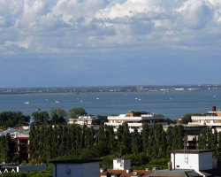 Lignano, Italy, View of the sea