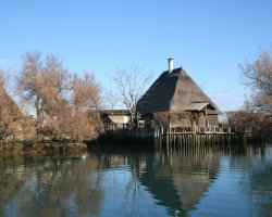 Lignano, Italy, Lagoon fishing lodge