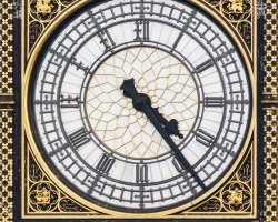 London Attraction Holiday, Big Ben, London, United Kingdom, Clock close view