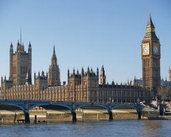 London Attraction Holiday, Big Ben, London, United Kingdom, View from the bridge