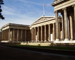 London Holiday, United Kingdom, British Museum front view