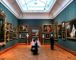 London Holiday, United Kingdom, National Portrait Gallery interior