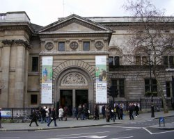 London Holiday, United Kingdom, National Portrait Gallery front entrance