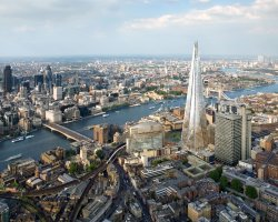 City Break Holiday, London, United Kingdom, The Shard panoramic view