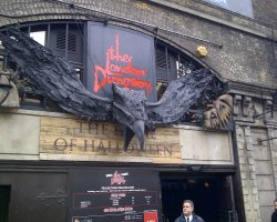 City Break Holiday, London, United Kingdom, The London Dungeon entrance