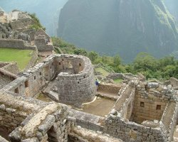 Lost Cities Attraction, Machu Picchu, Peru, Intihuatana