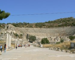 Lost Cities Attraction, Ephesus, Turkey, Way to amphitheatre
