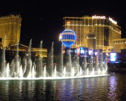 Luxury Holiday, Las Vegas, USA, The Bellagio Hotel, Front fountain water dance