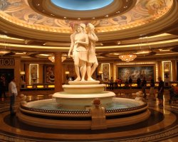 Luxury Holiday, Las Vegas, USA, Caesars Palace, Lobby