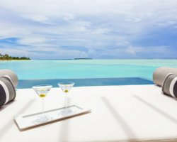 Luxury Hotels Holiday, Maldives, Asia, Niyama, Suite detail with glasses
