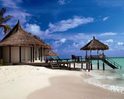 Luxury Hotels Holiday, Maldives, Asia, Banyan Tree Madivaru, Pontoon suite view