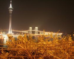 Macao, China, View by night