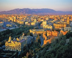 Malaga, Spain, City skyline