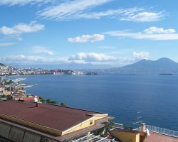 March touristic destination, Naples, Italy, City overview