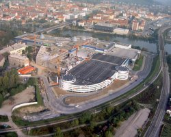 Maribor, Slovenia, Europark under contruction