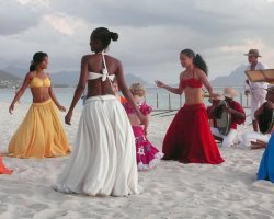 Dodo Land Holiday, Mauritius, Dance on the beach