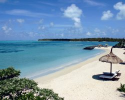 Dodo Land Holiday, Mauritius, Remote beach with lounges