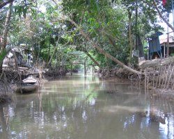 The Mekong Delta, Saigon, Vietnam, Water cannal2