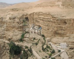Famous Monasteries Holiday, Israel, Saint George Monastery, Far view