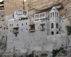 Famous Monasteries Holiday, Israel, Saint George Monastery, Front view