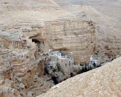 Famous Monasteries Holiday, Israel, Saint George Monastery, Panoramic view