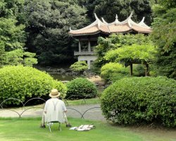 Most loved Cities, Tokyo, Japan, Shinjuku Gyoen National Garden, Building overview